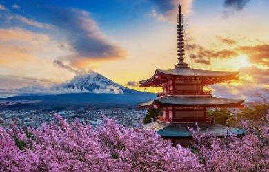 Japan travel scene