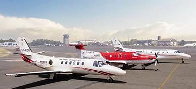 AMFRE air ambulance planes