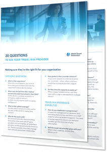 20 questions for travel risk management providers digital download